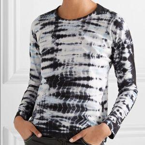 Markus Lupfer Top Sophie Tie Dye Cotton T Shirt XS